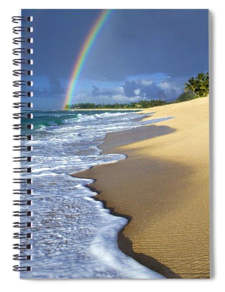 Rainbow Froth Spiral Notebook