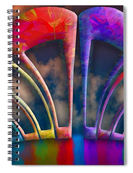 Rainbow Hill Spiral Notebook