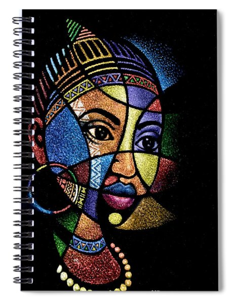 Rainbow Portrait Spiral Notebook