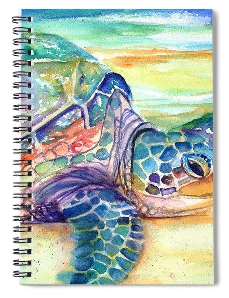 Rainbow Sea Turtle 2 Spiral Notebook