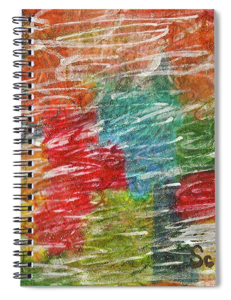 Rainbow Sparkle Spiral Notebook