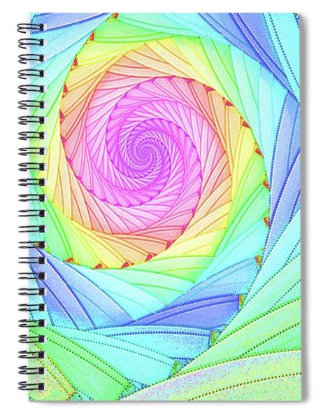 Rainbow Spiral Spiral Notebook
