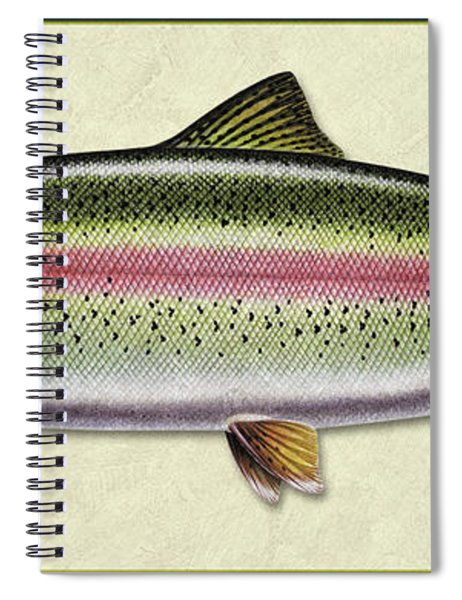 Rainbow Trout Id Spiral Notebook