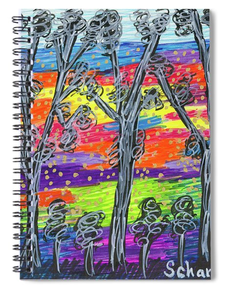 Rainbow Woods Spiral Notebook