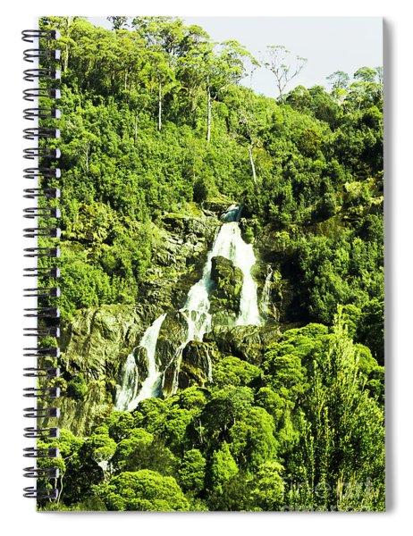 Rainforest Rapids Spiral Notebook