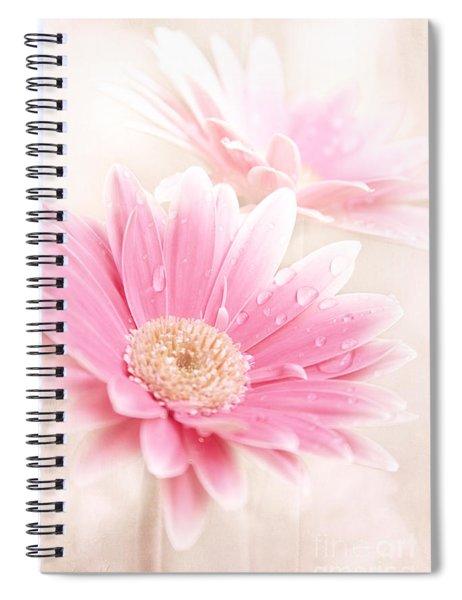 Raining Petals Spiral Notebook