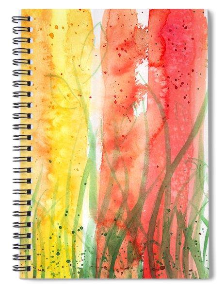 Rainy Day Cheer Spiral Notebook