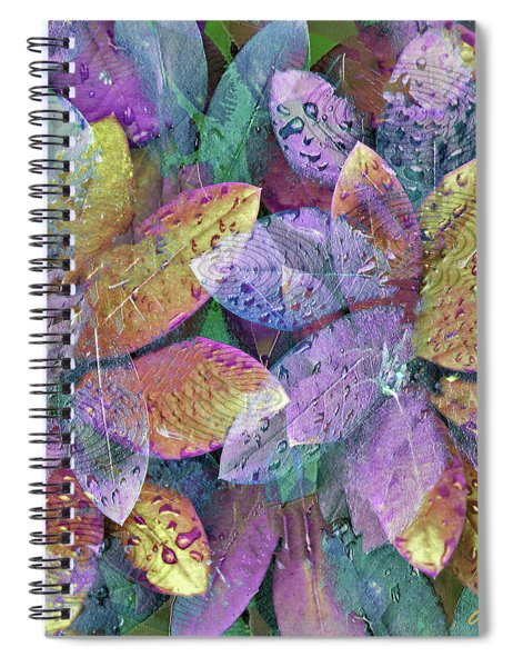 Rainy Day Magnolias Spiral Notebook