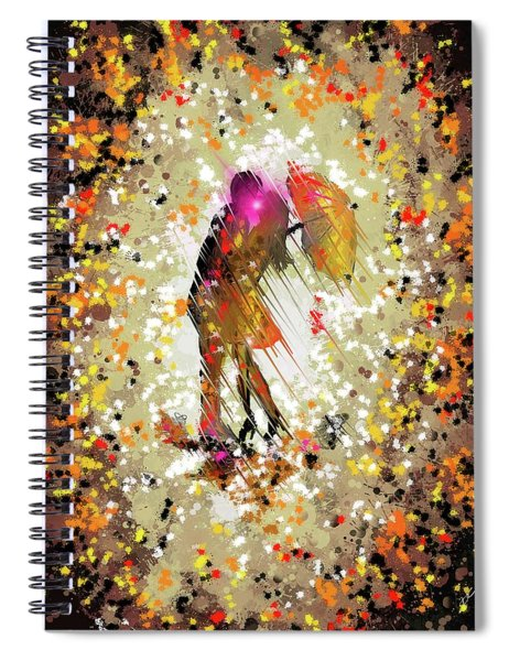 Rainy Love Spiral Notebook