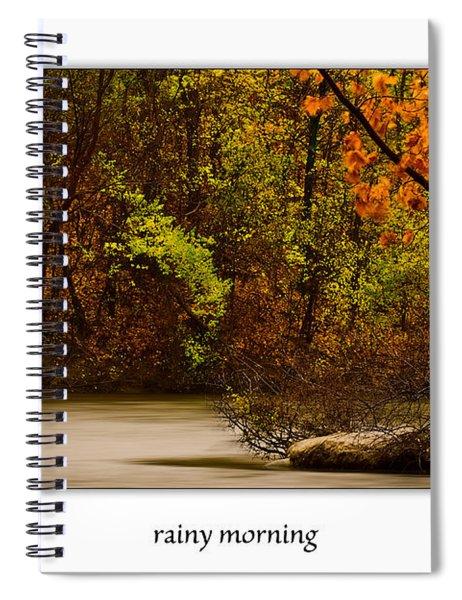 Rainy Morning Spiral Notebook