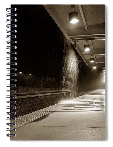 Rainy Night In Baltimore Spiral Notebook