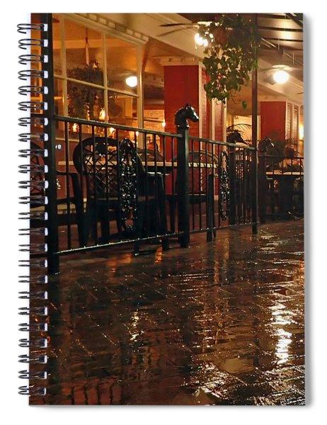 Rainy Night In Gainesville Spiral Notebook