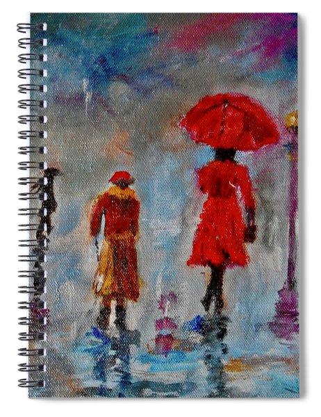 Rainy Spring Day Spiral Notebook