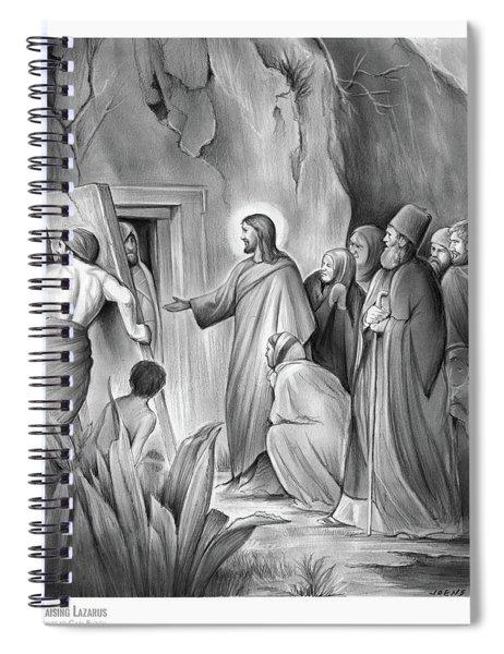Raising Lazarus Spiral Notebook