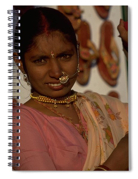 Spiral Notebook featuring the photograph Rajasthan by Travel Pics