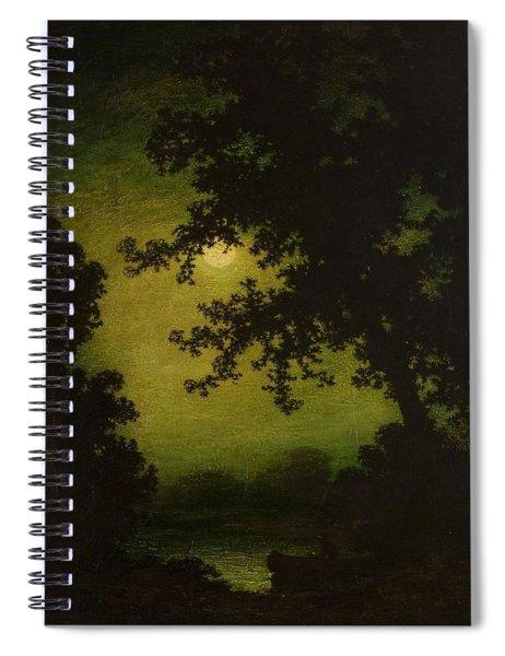Ralph Albert Blakelock  1847  1919  Stilly Night Spiral Notebook