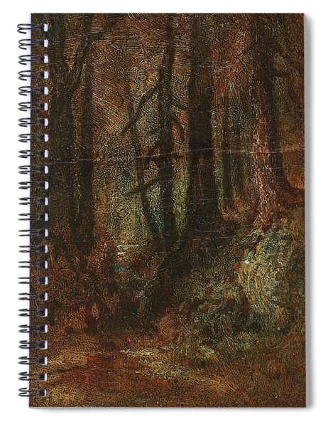 Ralph Albert Blakelock  1847  1919  Woodland Stream Spiral Notebook