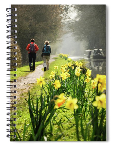 Rambling On Spiral Notebook