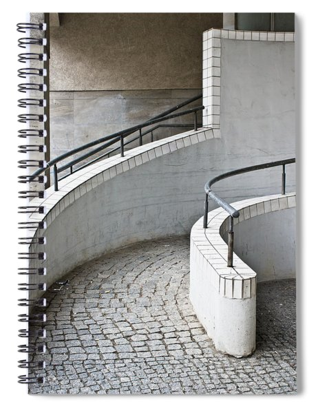 Ramp Entrance Spiral Notebook