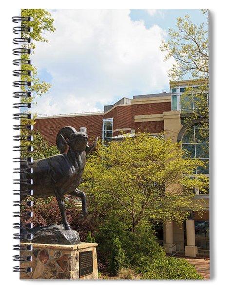 Ramses The Bighorn Ram Sculpture Spiral Notebook