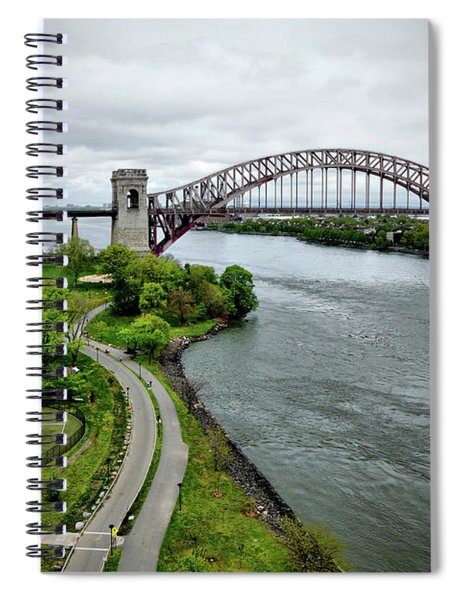 Randall's Island To Hellgate Spiral Notebook