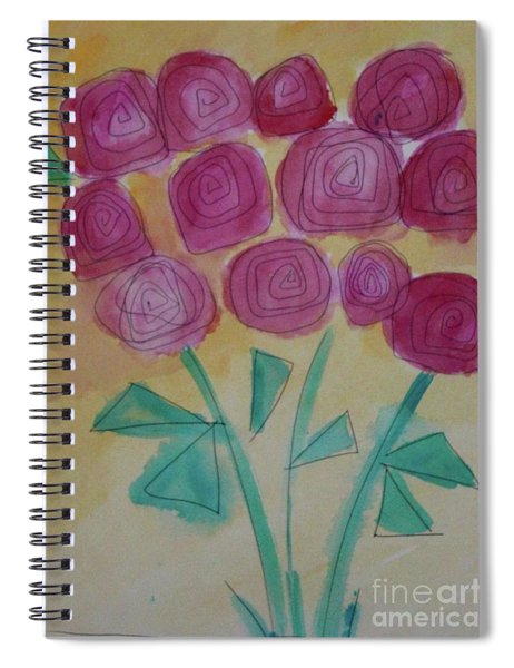Randi's Roses Spiral Notebook