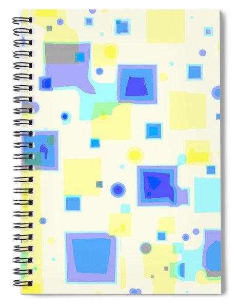 Random Blips Spiral Notebook