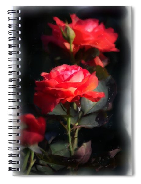 Spiral Notebook featuring the digital art r.'Artistry' 3035g by Brian Gryphon