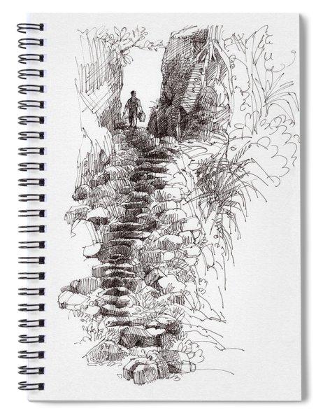 Rat Road Spiral Notebook