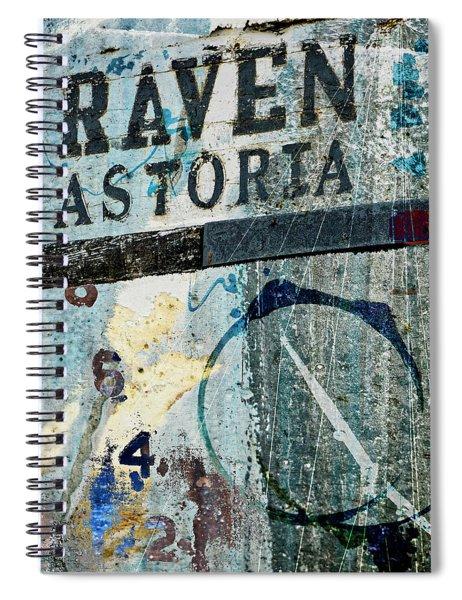 Raven Astoria  Spiral Notebook