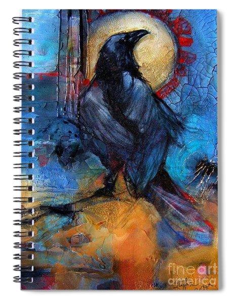Raven Blue Spiral Notebook