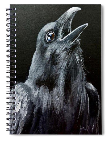 Raven Song Spiral Notebook