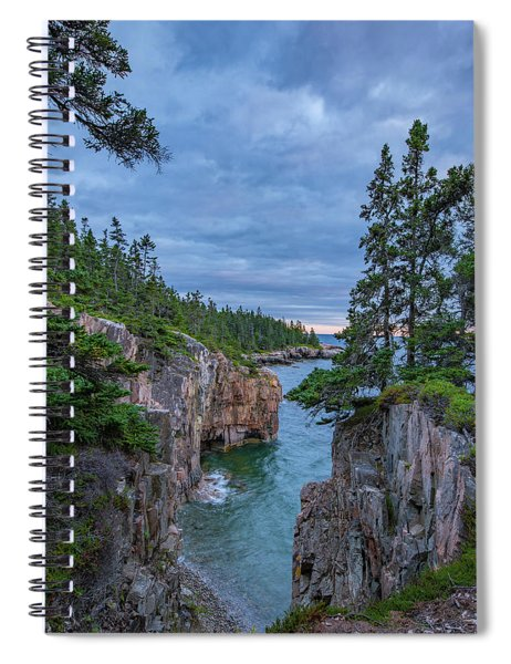 Raven's Nest Sunset Spiral Notebook
