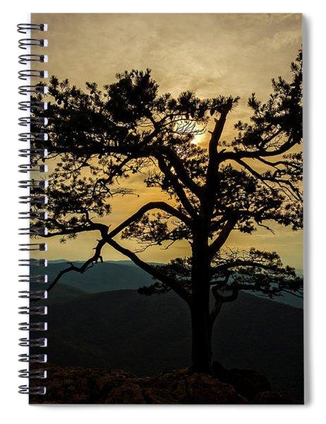Ravens Roost Hdr Spiral Notebook