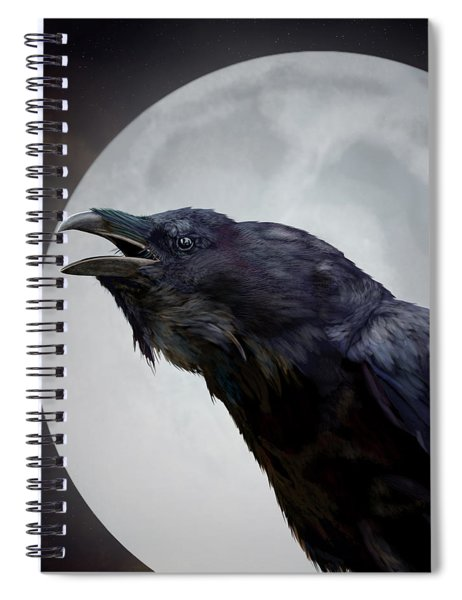 Ravensong Spiral Notebook