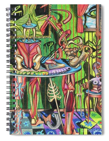 Raw Garnishings Spiral Notebook