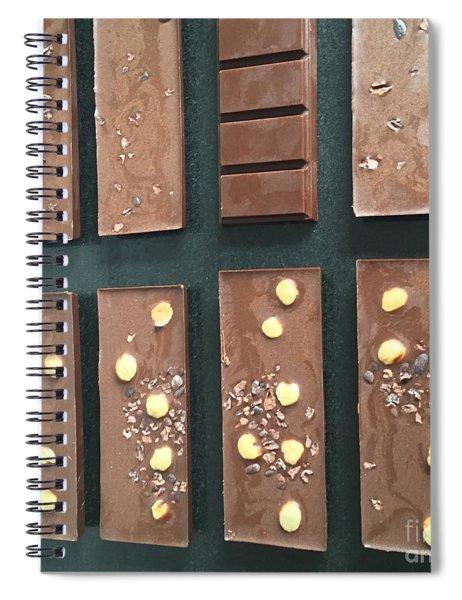 Raw Vegan Chocolate  Spiral Notebook