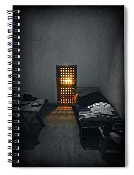 Rays Of Freedom Spiral Notebook
