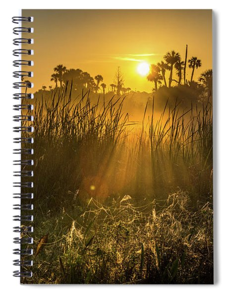 Rays Of Light Spiral Notebook