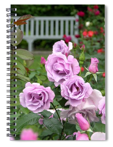 Spiral Notebook featuring the photograph r.'Blueberry Hill' 6426 by Brian Gryphon