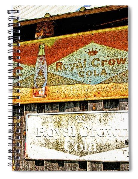 Rc Crown Cola Spiral Notebook