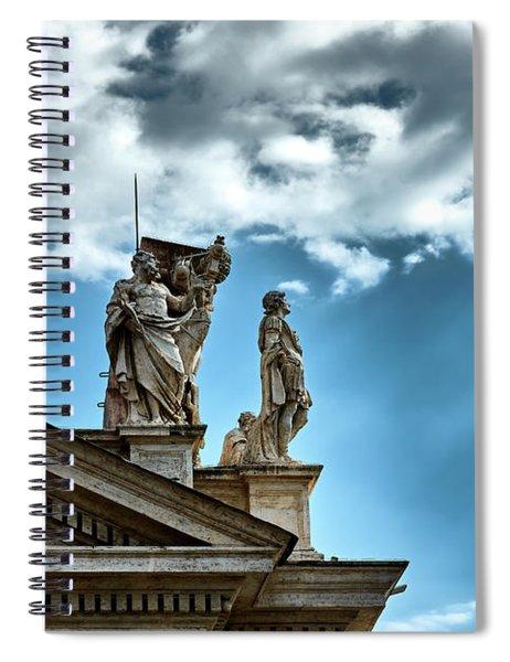 Reaching The Sky Spiral Notebook