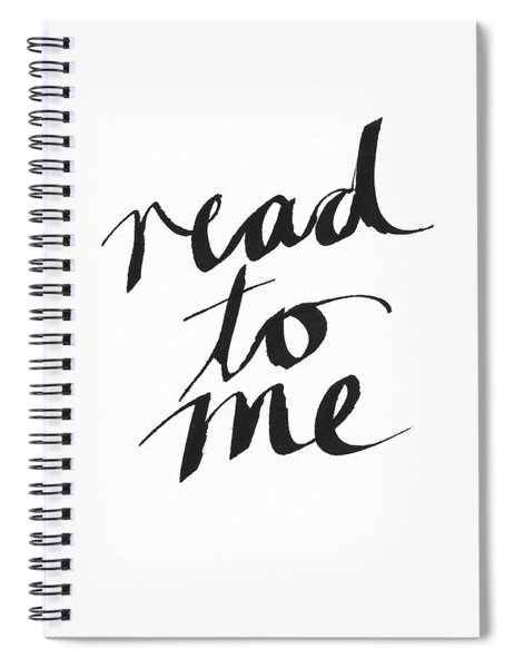 Read To Me- Art By Linda Woods Spiral Notebook