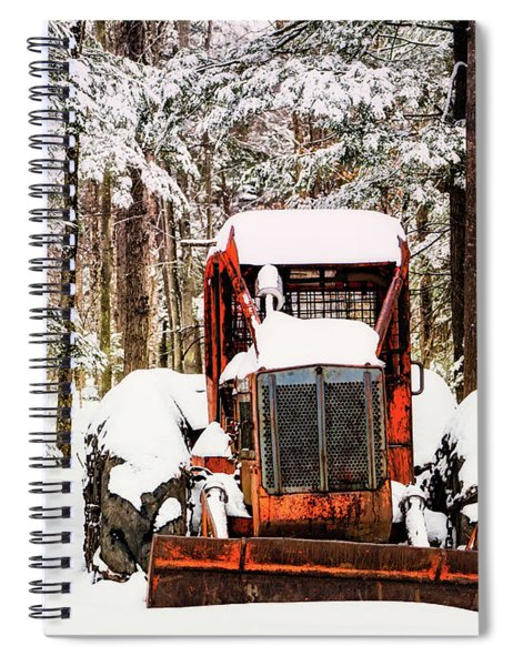 Ready And Waiting Spiral Notebook
