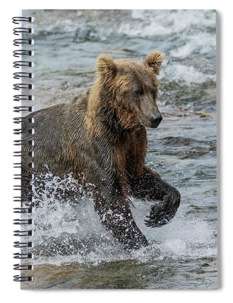 Ready For Action  Spiral Notebook