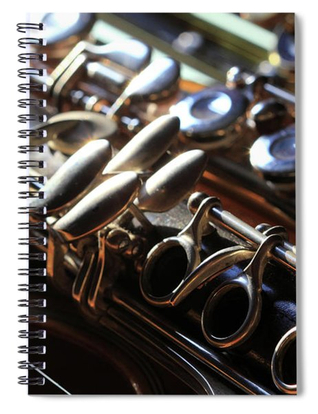 Ready For The Music Spiral Notebook