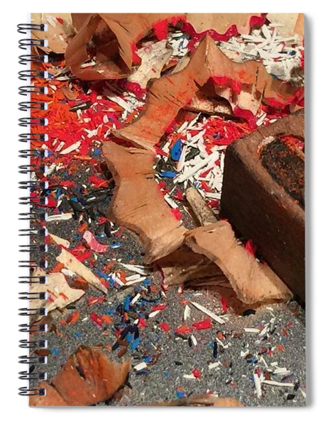 Ready-set-draw Spiral Notebook