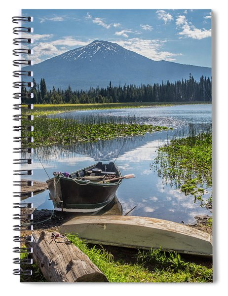 Ready To Fish Spiral Notebook