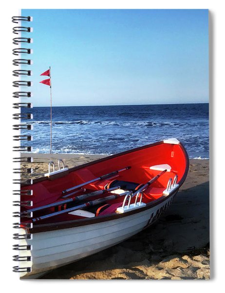 Ready To Row Spiral Notebook