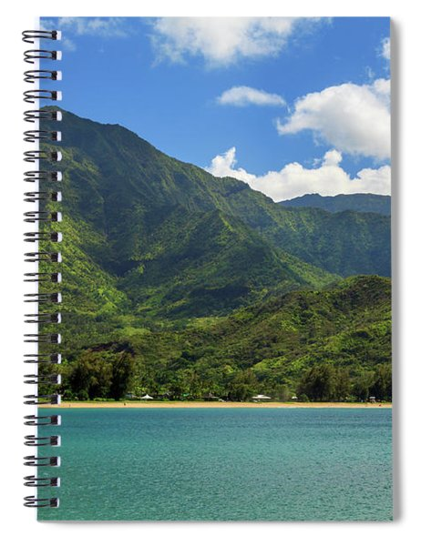 Ready To Sail In Hanalei Bay Spiral Notebook